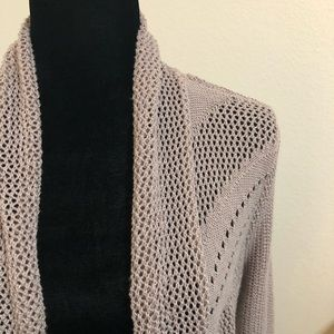 Knit Open Cardigan